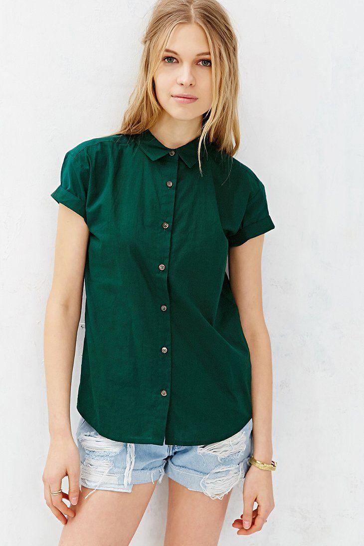 Vanishing Elephant Classic Short-Sleeve Shirt - Urban Outfitters