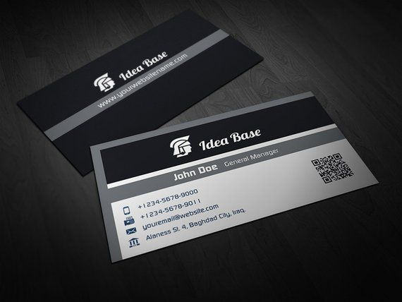 printable corporate business card business card template card template photoshop template in