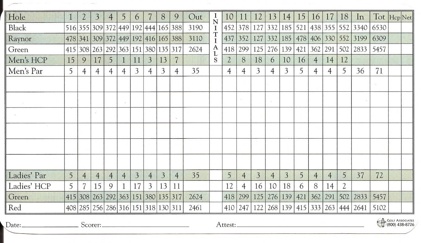Golf Scorecard Template Template Pinterest Golf Scorecard