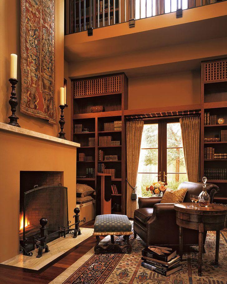 Small Home Library Design: Interior Designs:Small Home Library Design With Perfect