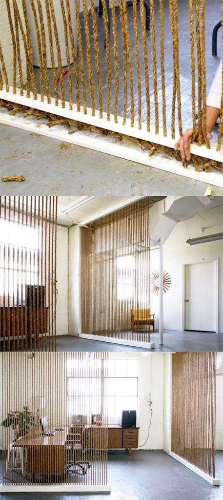 Comment utiliser du cordage pour décorer la maison? | дизайн ...