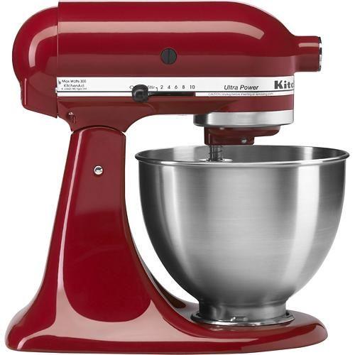 Kitchenaid Ultra Power Tilt Head Stand Mixer Empire Red