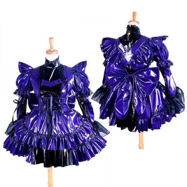PVC sissy maid Vinyl dress  lockable outfit CD/TV Tailor-made[G1405]   eBay