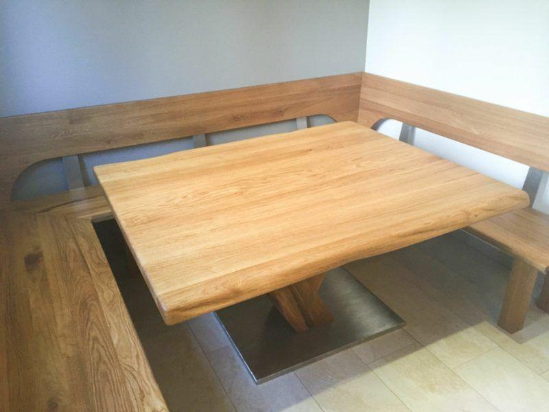 Massivholz Eckbank Groß Eckbank Mit Tisch Aus Kirschbaum - eckbänke für küchen
