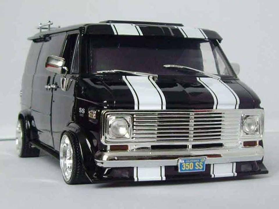 1 Vans 1971 1979 Only Chevrolet Van Custom Vans Van