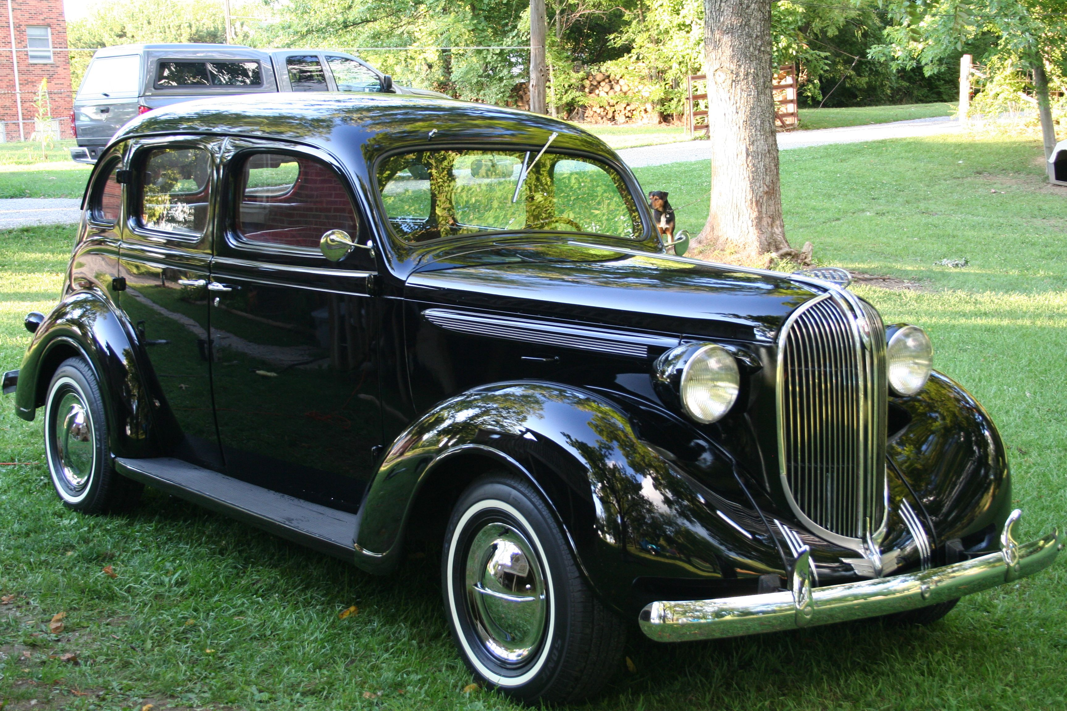 1938 Plymouth Goin To Church In Style Plymouth Cars Classic Cars Plymouth