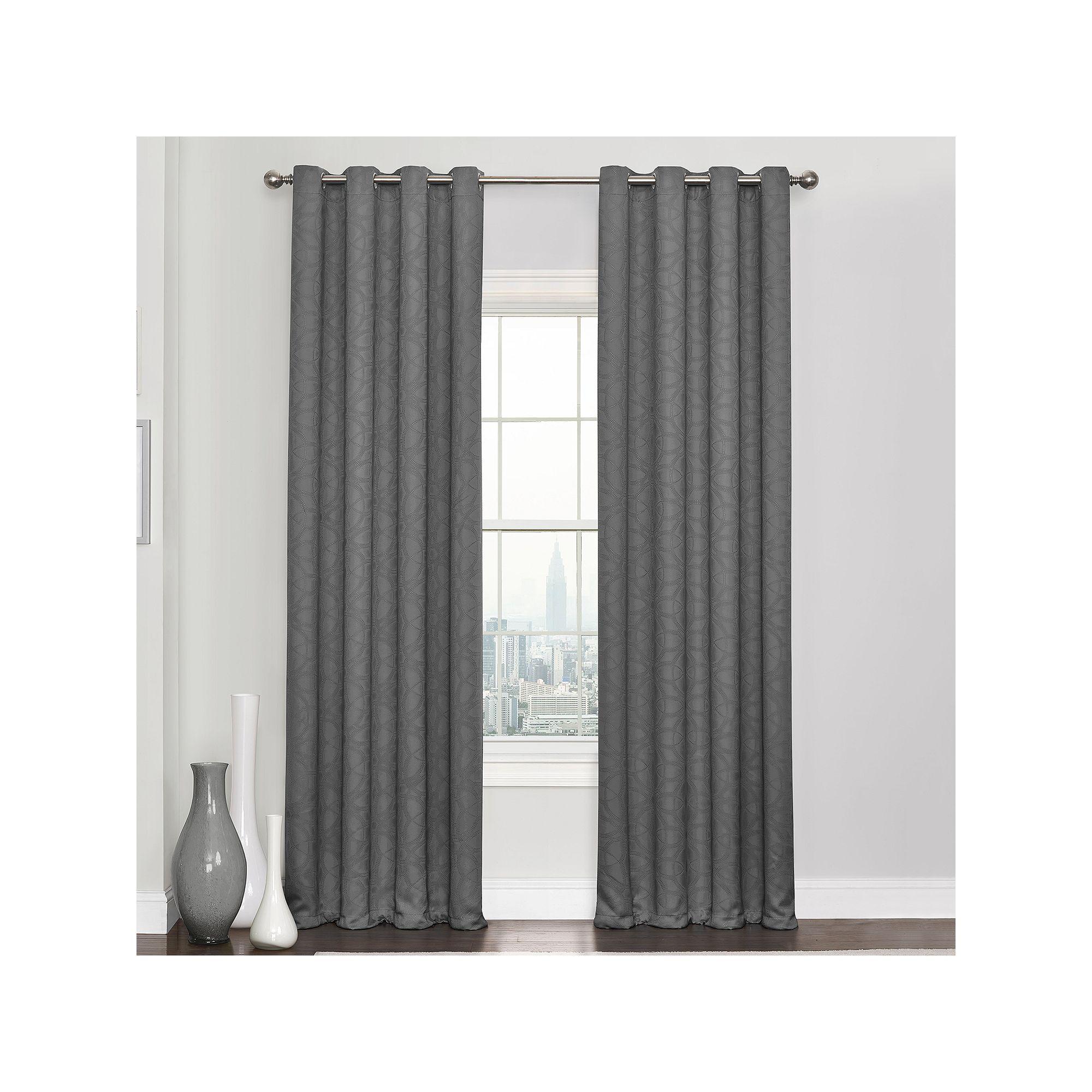 Eclipse Kingston Blackout Curtain, Grey
