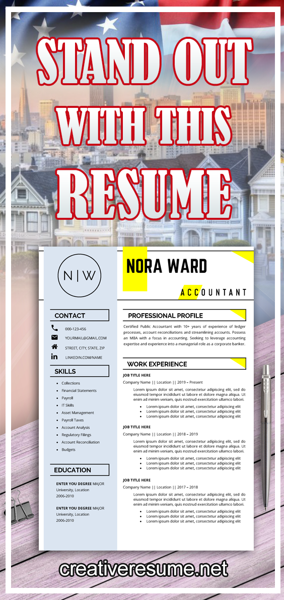 Sales Manager Professional Resume Template Creative Resume Modern Cv Best Resume Microsoft Word Simple Executive Cv Cover Letter In 2020 Resume Template Resume Advice Job Interview Advice