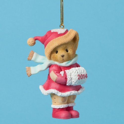 Cherished Teddies Collection Bear Dated 2014 Ornament *** To view further  for this item - Pin By Becky Schneider On Cherished Teddies Pinterest Ornaments