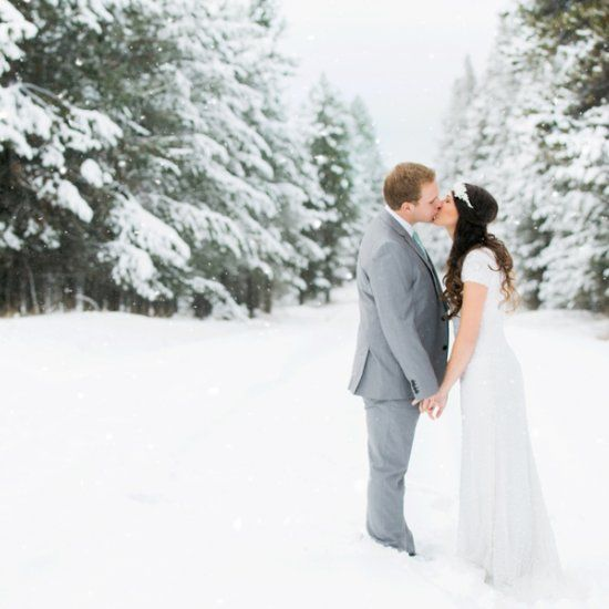 Tyler and Emma's wintery First Look and bridal session! So much snowy goodness- pull up your snuggy and cup of hot cocoa!