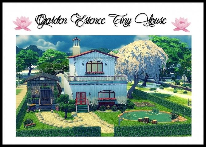 Garden Essence Home Sims 4 - Free HD Wallpapers and 4K