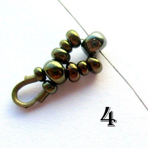 Flames Bracelet / Earrings Patters ~ Seed Bead Tutorials