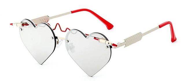 Heart Shaped Sunglasses Heart Shaped Sunglasses Pink Sunglasses Cat Eye Sunglasses Women
