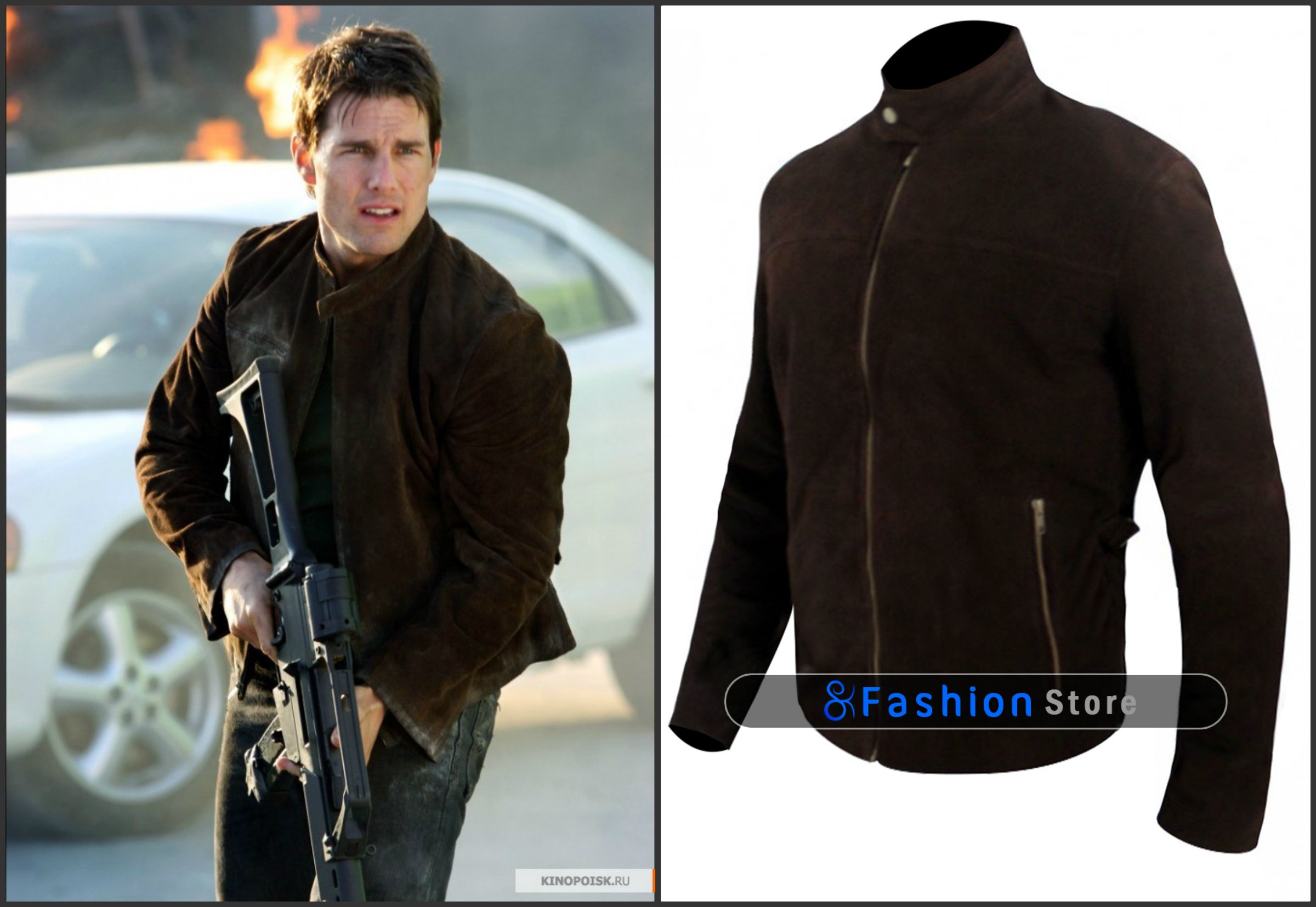 Tom Cruise Mission Impossible 3 Ethan Hunt Suede Jacket All Sizes Available Tom Cruise Mission Impossible Mission Impossible 3 Stylish Jackets [ 1655 x 2400 Pixel ]