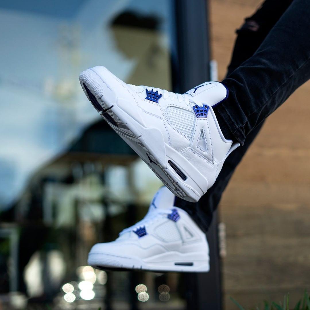 tumor servir pavo  insidesneakers • Air Jordan 4 Retro « Purple Metallic » • CT8527-115 | Jordan  shoes girls, Shoes sneakers jordans, Jordan 4