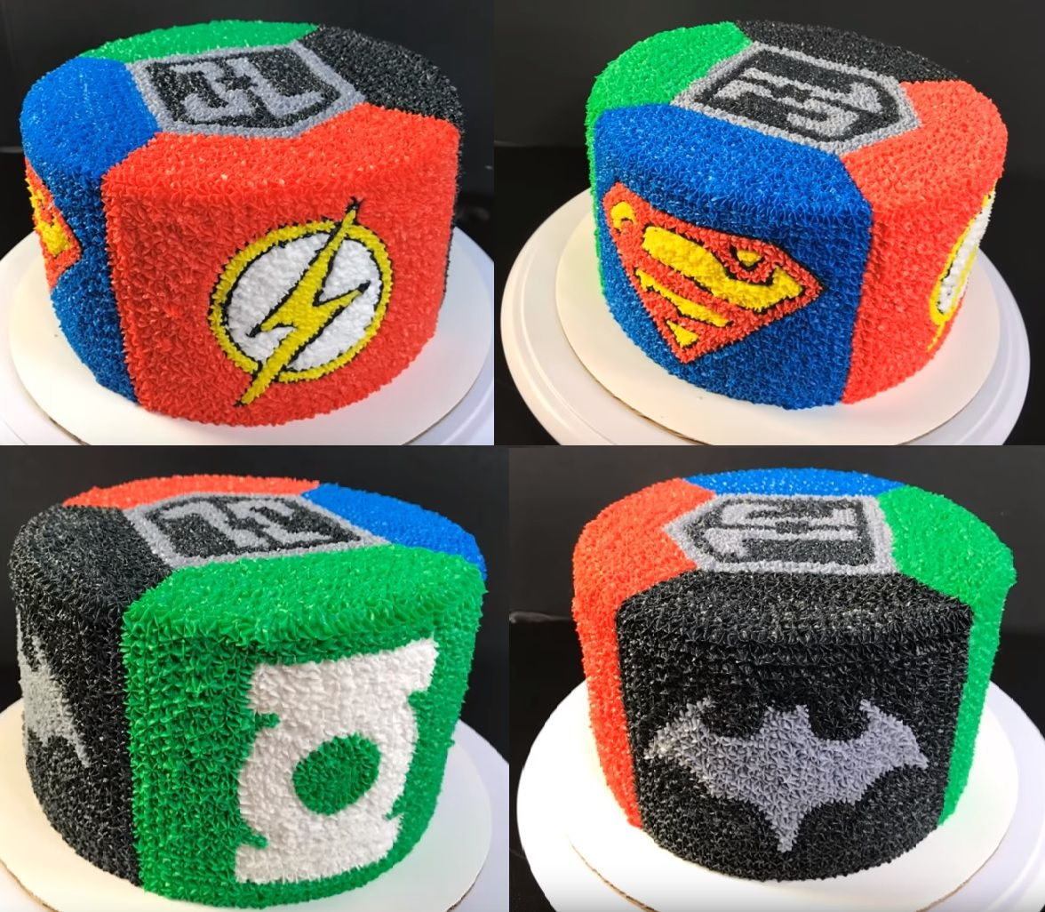Justice League With Images Justice League Cake Marvel