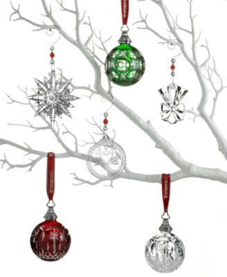 Waterford Crystal Christmas Ornaments.Crystal Gifts Snowflake Wishes For Courage Collection