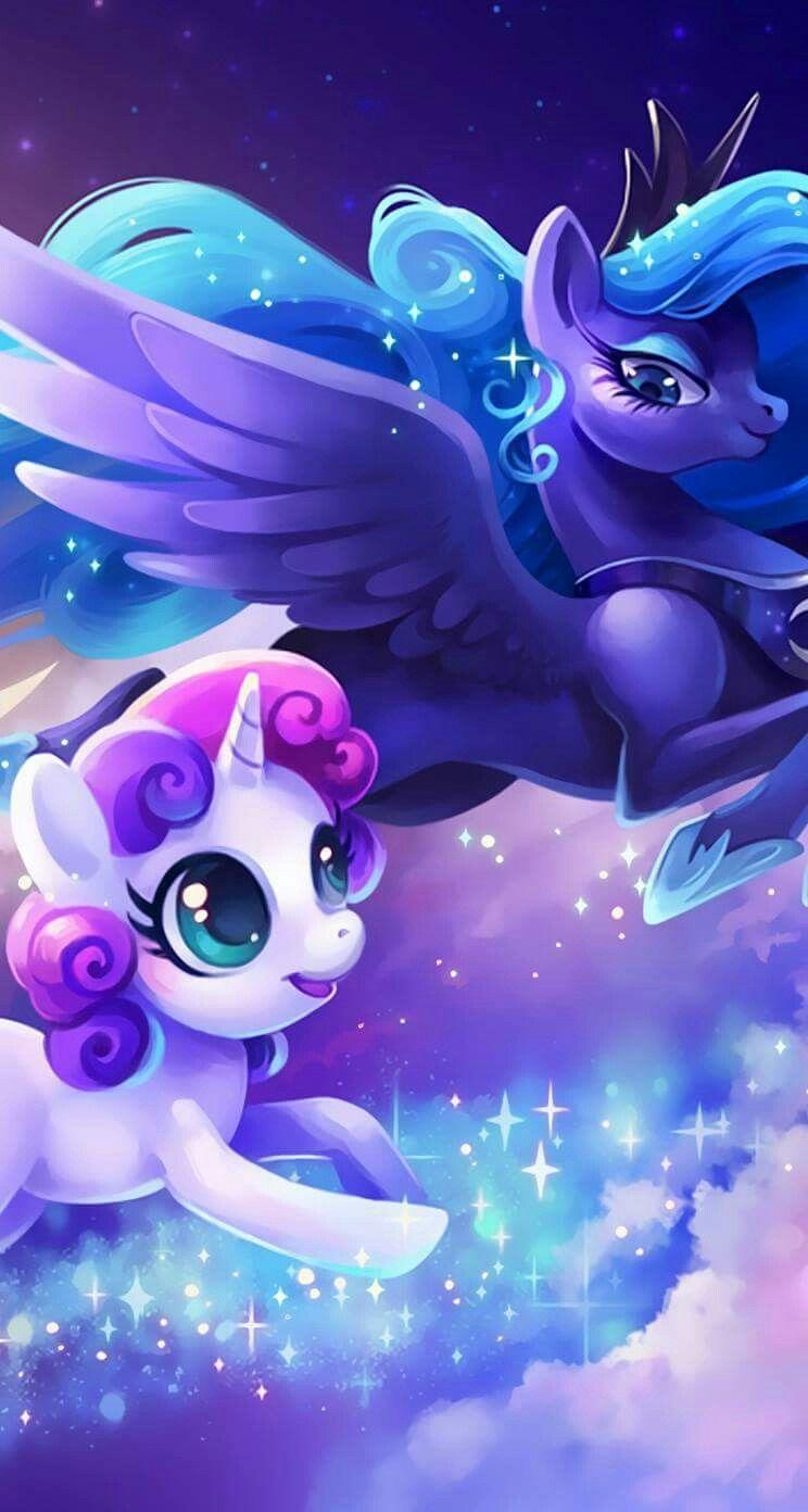 pinmy little pony happy smile on my little pony luna   pinterest