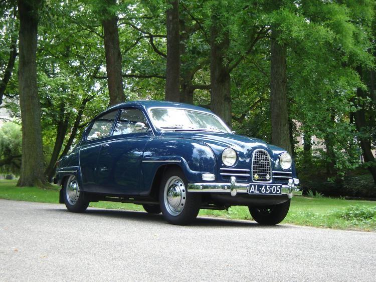 Saab 96 Shortnose 1962 Oldtimer Op Carrelation Oldtimers Automerk Motor