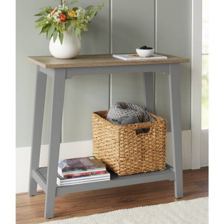 10 Spring Street Bedford Console Table Walmart Com Rustic Console Tables Furniture Console Table