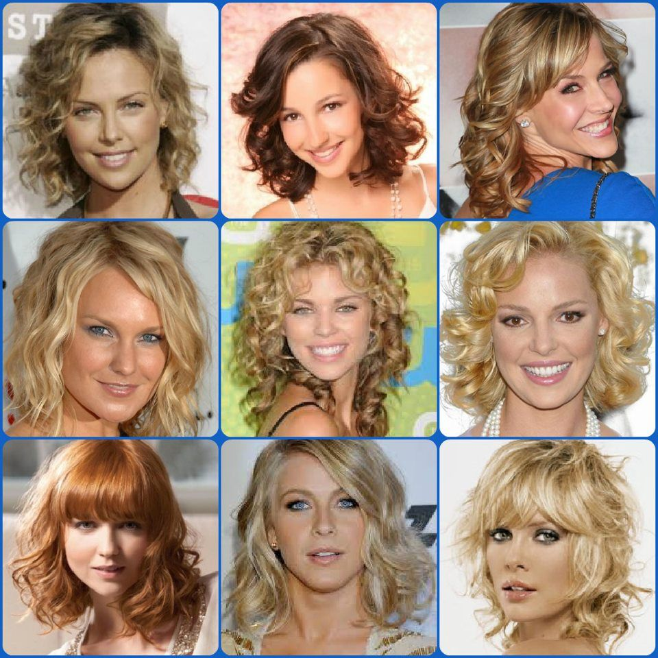 Medium Length Hairstyles For Naturally Curly Hair Httpwww