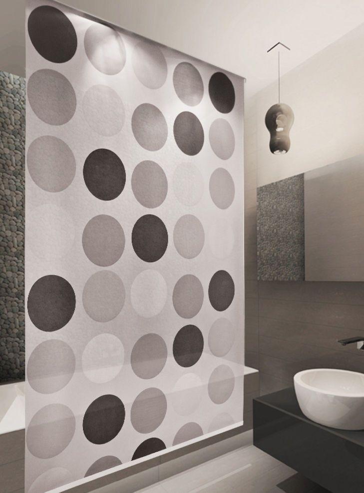 Duschrollo Basic Duschvorhang Dusche