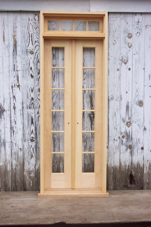 Transoms Over Doors One Of Two Narrow Units To Be Installed In Parlor On Either Side Of Narrow French Doors French Doors Exterior Exterior Doors With Glass