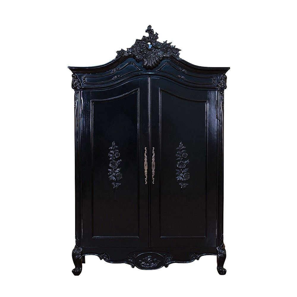 Haunt Maleficent Armoir In Gloss Or Matte Black Bedroom And  # Muebles Goticos