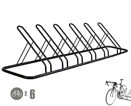 Indoor Bike Storage - 1  6 Bike Floor Parking Rack Storage Stand Bicycle *** Click on the image for additional details.