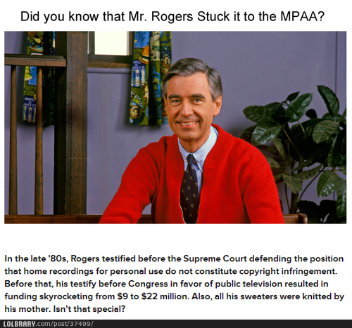 One More Reason To Love Mr Rogers Mr Rogers Mister Rogers