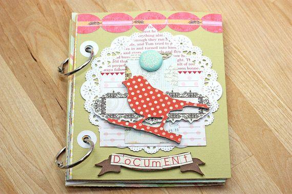 Document - Handmade Journal Mini album vierge