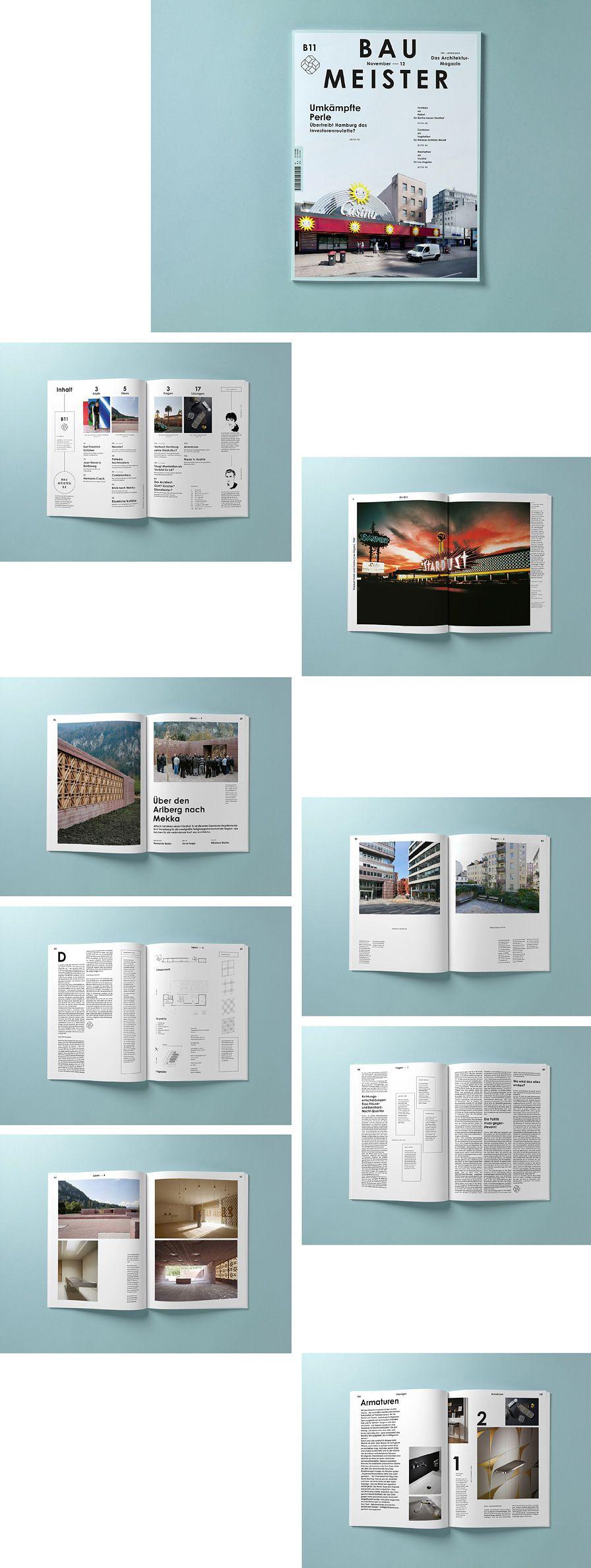BAU MEISTER   éditorial   Pinterest   Editorial, Diseño editorial y ...