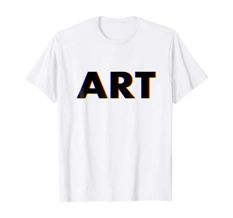 Art tshirt gift clothing with images