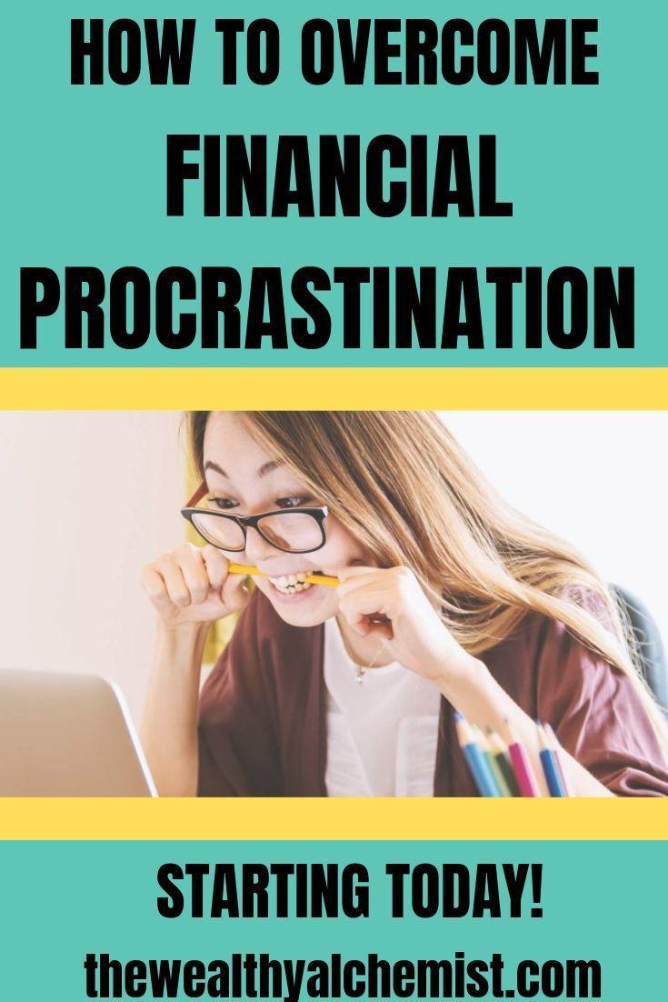 How to financial procrastination money mindset