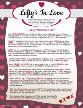 Leftyu0027s In Love   Valentineu0027s Day Game. So Going To Do ...