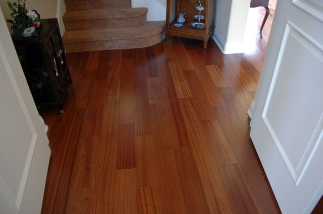 Captivating La Costa Installation Of Lauzon Flooring Natural 5 3/16 Engineered Hardwood  Flooring Of African