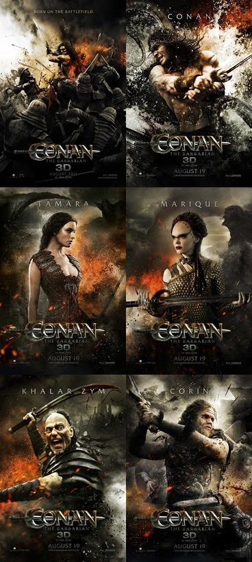 Conan the Barbarian 2011 posters | By Crom! Conan! in 2019