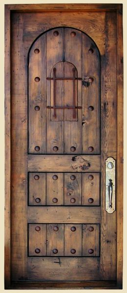Casita Entry with Peep Door Constructed from Reclaimed Douglas Fir Features Custom Grillwork Large Clavos and Cast Entry Set 9037-11 Nance-Sarver & Casita Entry with Peep Door Constructed from Reclaimed Douglas Fir ...