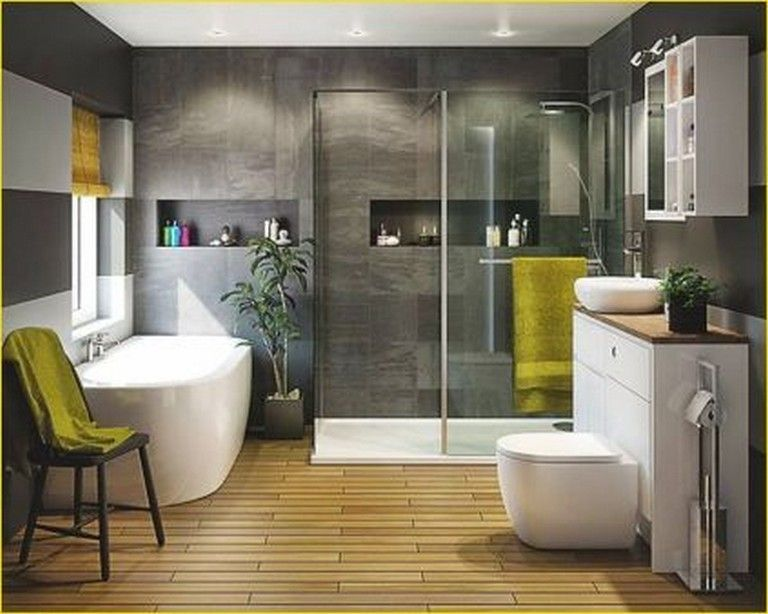 22+ Comfy Wooden Bathroom Designs Ideas Bathroom Pinterest