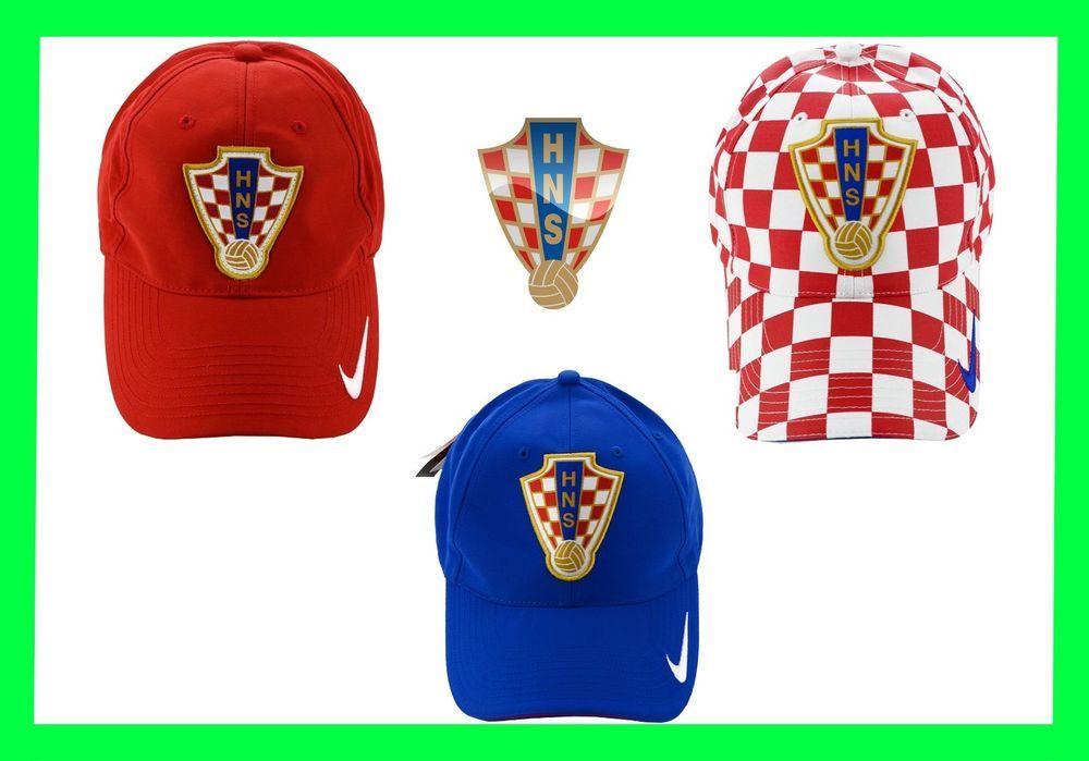 79f2973acc5 CROATIA FOOTBALL Soccer FEDERATION HNS CROATIA HAT CAP ŠAHOVNICA HRVATSKA  BNWT  Nike  caphat