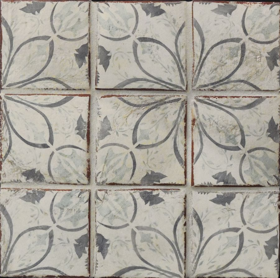 Antique style terracotta tile inspired by portuguese azulejos antique style terracotta tile inspired by portuguese azulejos dailygadgetfo Images