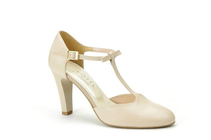 Kotyl 5871 Bezowe Czolenka Skora Licowa Pasek 38 4551062636 Oficjalne Archiwum Allegro Shoes Mary Janes Fashion