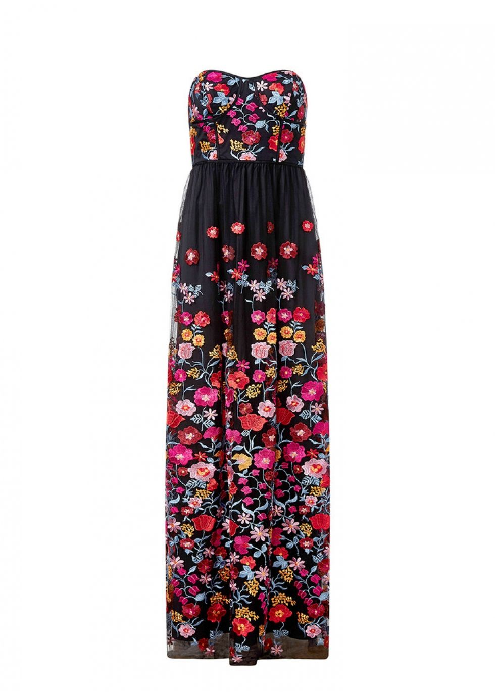 a4cc13ceb Aidan Embroidered gown - Harvey Nichols | Aidan by Aidan Mattox ...