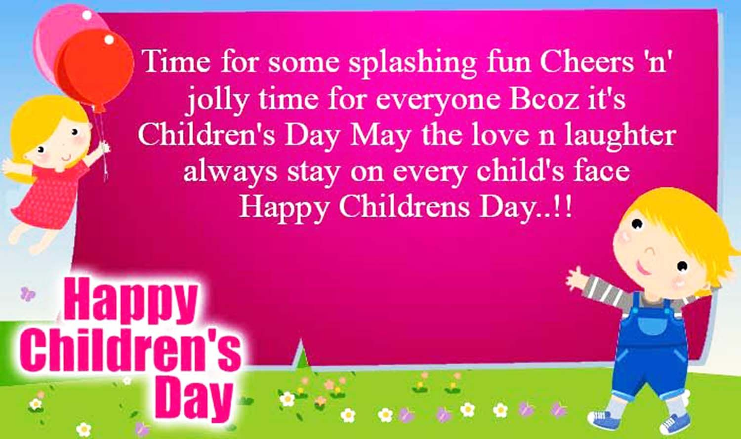 Childrens Day Quotes Wishes Happy Childrens Day Quotes Wishes