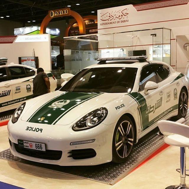 Panamera Dubai Police