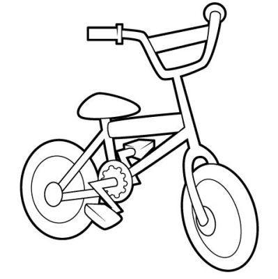 Bicicleta Gif Juguetes Para Colorear Bicicleta Para Colorear Medios De Transporte