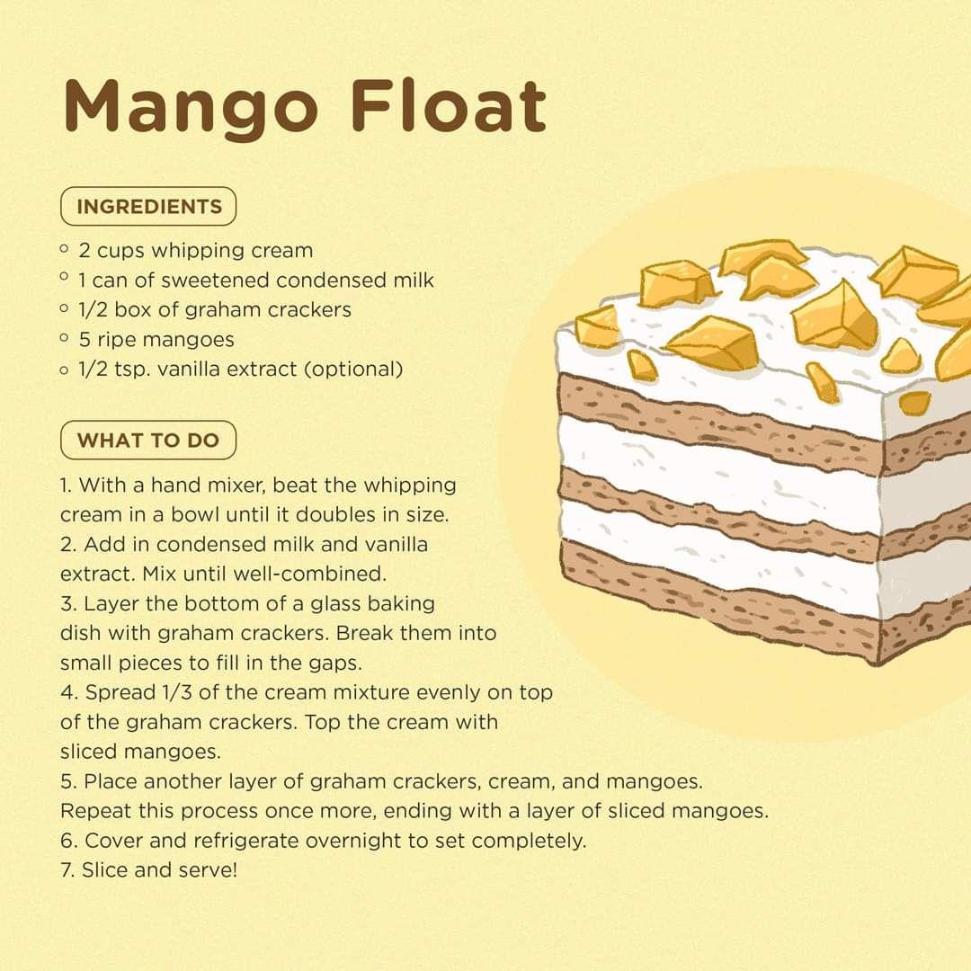 Resepi Kek Mangga Float Pawtaste Com