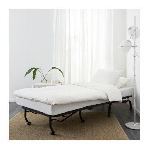 Lycksele LÖvÅs Fotelis Lova Ebbarp Juoda Balta Ikea Murbo Chair Bed Vallarum Grey Single Sofa