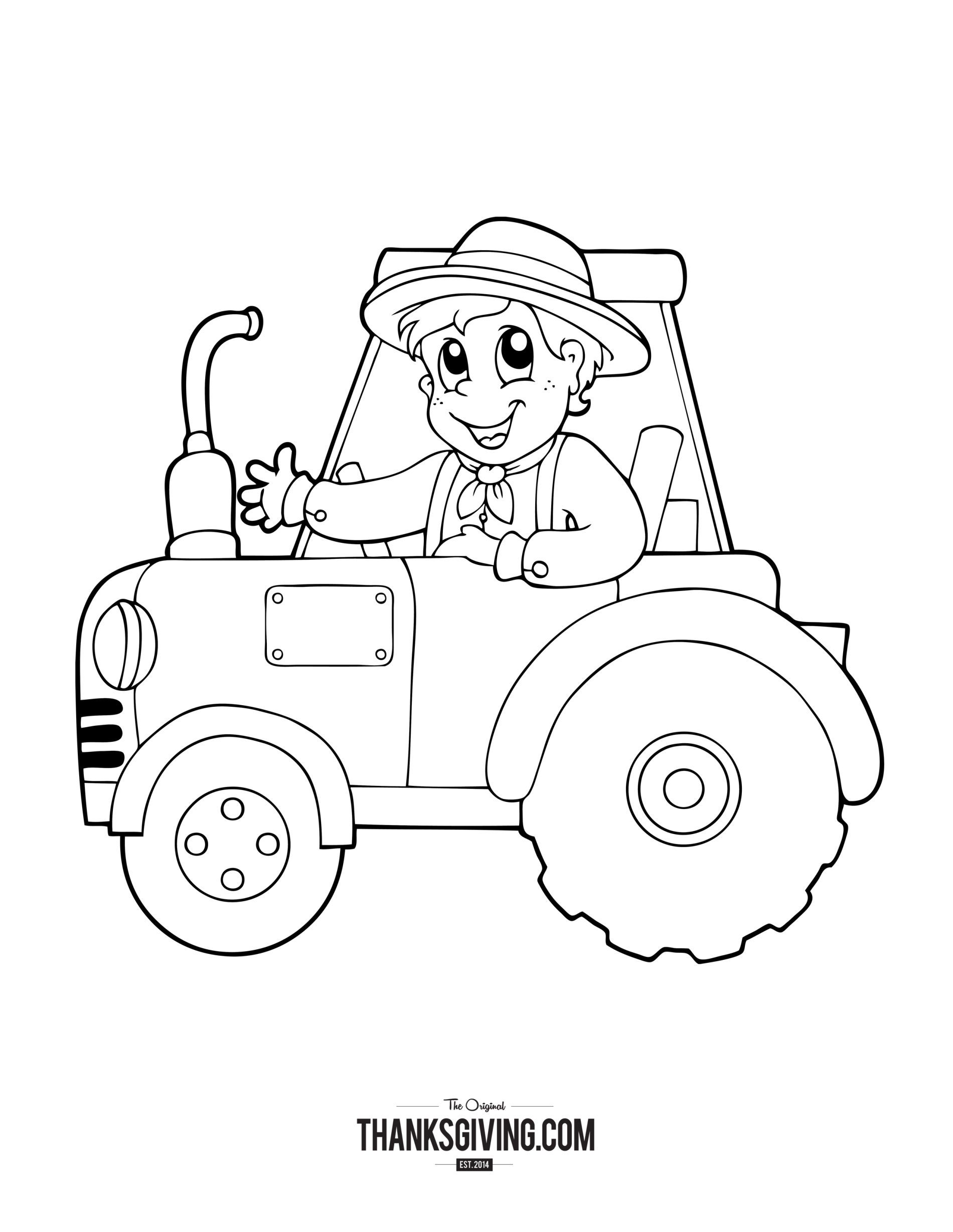Coloring Book Pages for Kids | Thanksgiving printables | Coloring ...