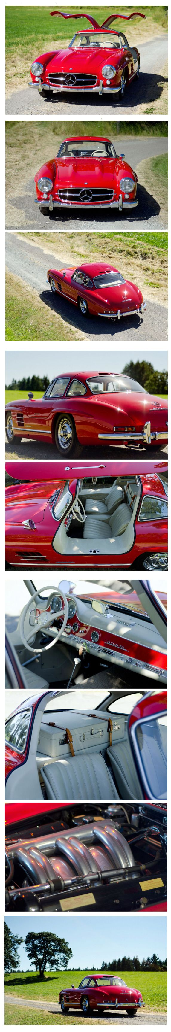 1955 Mercedes-Benz 300SL Gullwing...Re-pin...Brought to you by #HouseofInsurance for #CarInsurance #EugeneOregon